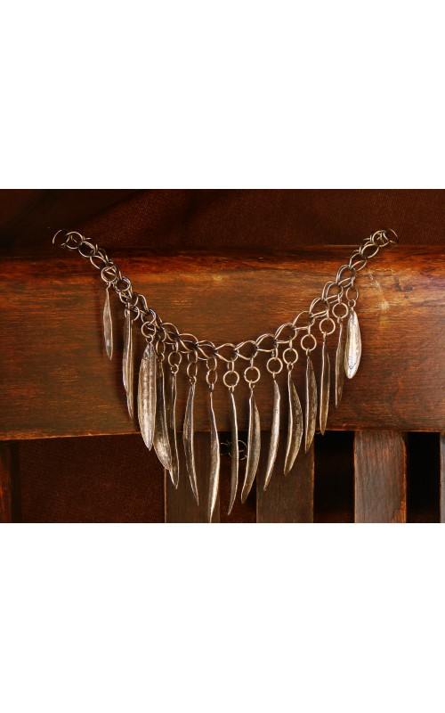 Against the wind  necklace